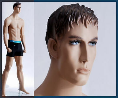 Male Mannequin For Boxing Head Gear - Full Size Body Dress Form Manikin - Ken