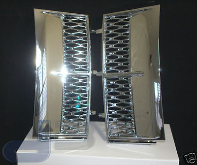 03-05 Range Rover All Chrome Supercharger Side Vents L322