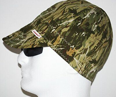 Comeaux Caps 118-2000-c-7-14 Deep Round Crown Caps 7 14 Camouflage