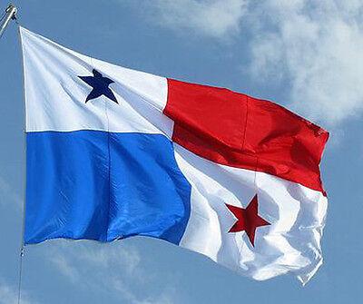 NEW 3x5 ft PANAMA PANAMANIAN FLAG better quality USA seller