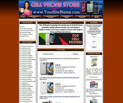 Established Cell Phone Mobile Online Business Website For Sale