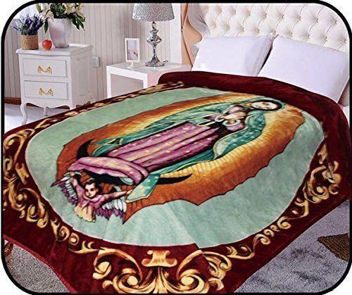 Hiyoko Virgin Mary Mink Blanket Throw Bedspread Comforter Co