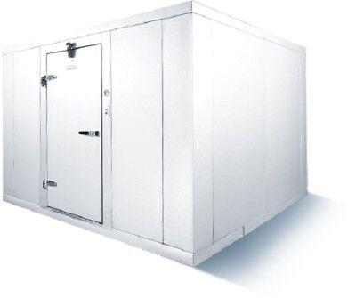 Walk-in Freezer Mr. Winter 8x8 With Refrigeration Made Usa Free Ship East Coast
