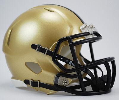 Army Black Knights Ncaa Riddell Speed Authentic Mini Football Helmet