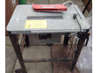 Rexon Saw Cutting Table TS3150A 2000W Platform Steel Adjustable Dust Cover Electrica