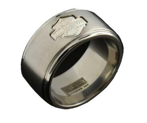 Harley davidson mens rings ebay for Harley davidson jewelry ebay