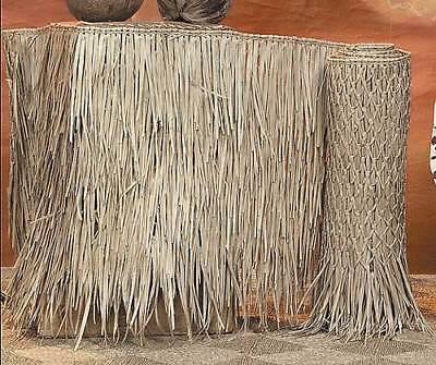 "36""X 60' Tiki Hut Bar Grass Thatch Roll Palm Leaf Mexican Thatching"