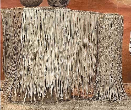"""36"""" X 60FT Mexican Thatch Tiki PALM GRASS ROLL BEST ON THE MARKET FAST SHIPPING"""