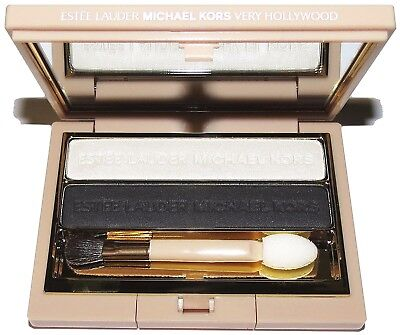 MICHAEL KORS Night Star Smokey EyeShadow + Black Mesh Tote Bag & Perfume Vial
