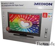LCD Fernseher Silber