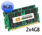 200 8GB 2 PC2-6400 (DDR2-800) Computer Memory (RAM)