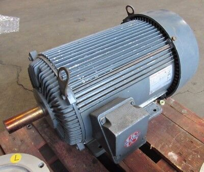 US ELECTRICAL MOTORS UNIMOUNT MULTISPEED MODEL C731A, 460V, 20/5HP 3PH