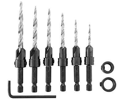 Irwin Tools 1882792  SPEEDBOR Countersink Wood Exercise Bit, 8-Piece