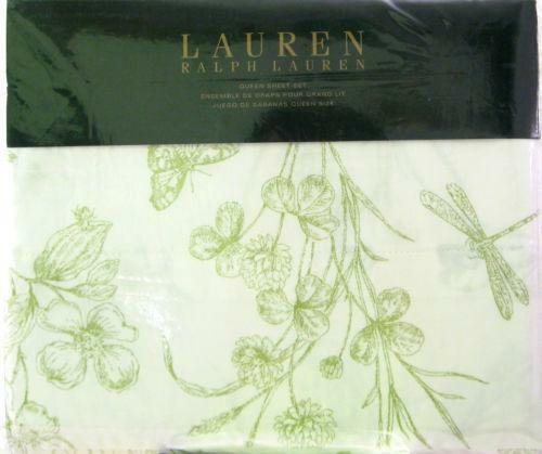 Ralph Lauren Toile Sheet Set Ebay