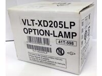 Mitsubishi VLT-XD205LP Projector Lamp for SD205, SD205R, SD205U, XD205, XD205U NEW & BOXED