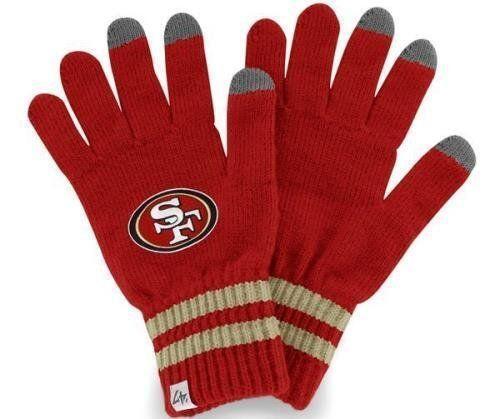 49ers football gloves