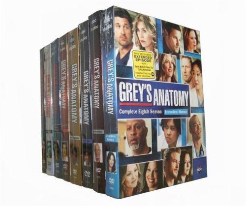 Greys Anatomy Seasons 1 8 Ebay