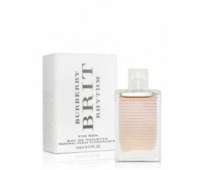 Mini Burberry Brit Rhythm 0.17 oz EDT Perfume for Women New In Box