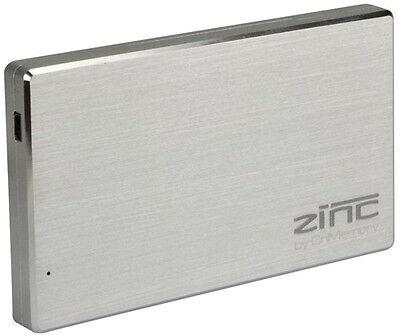 CnMemory Leergehäuse HDD Festplatte Alu Gehäuse Zinc 2,5 Zoll USB 3.0 silber