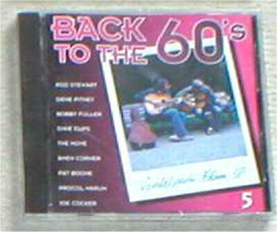 BACK TO THE 60s VOL. 5 sealed cd Stewart Move Boone Procol Cocker...