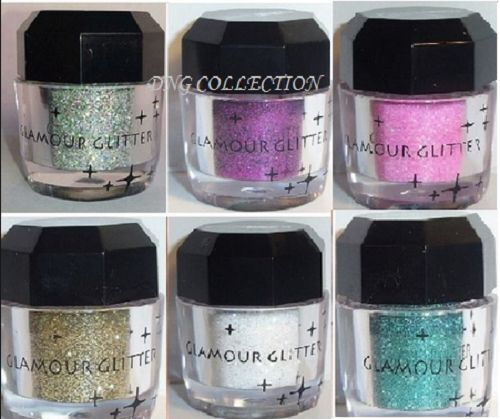 Cosmetics Eye shadow Color Makeup Pro Glitter Eyeshadow Pale