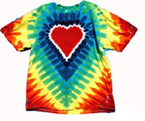 Rainbow tie dye shirt ebay for Tie dye mens t shirts