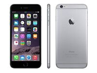 iPhone 6+,unlocked,64 Gb space grey,with box