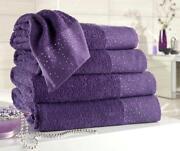 Diamante Towels