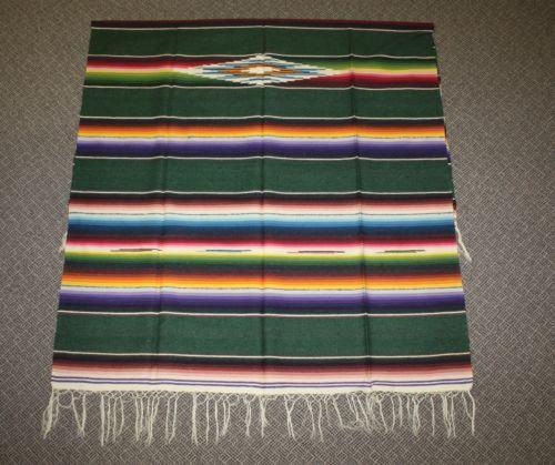 Mexican Rug History: Vintage Serape: Blankets, Rugs & Textiles