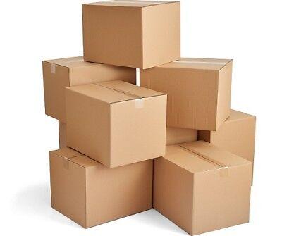 CARDBOARD BOXES S/W 12x9x4