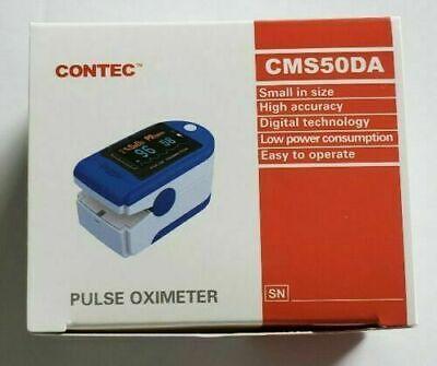 Us Seller Fast Shipping Contec Cms50da Fingertip Pulse Oximeter New