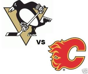 2 Tickets Flames vs Penguins (LOWER BOWL or 200 LEVEL) Oct 25
