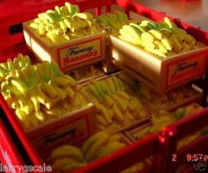 Banana Crate Miniatures 2 1 24 Scale G Scale Diorama
