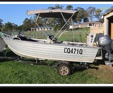 Seajay Tropic 4.55m & Boat Trailer Caboolture Caboolture Area Preview