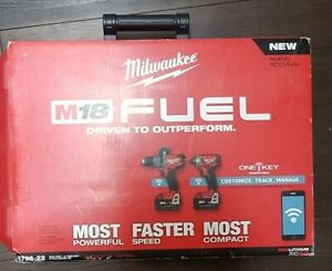 Brand New Milwaukee M18 Fuel OneKey Hammerdrill, Impact combo