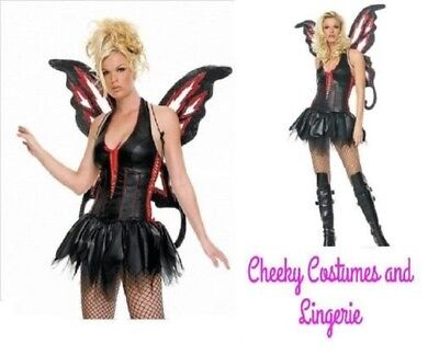Gothic Fairy / Pixie Halloween Dress Size L - 12