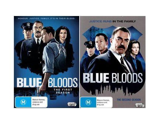 Blue Bloods Series : SEASON 1 & 2 : NEW DVD