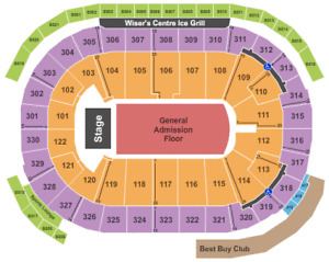 FOO FIGHTERS (sat, sept 8) (sec 105, CLUB SEATS) 5 seats