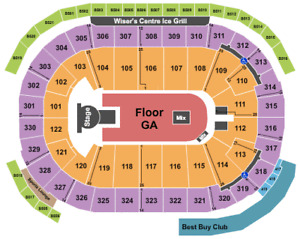 Travis Scott Tickets (fri, jan 25) (SEC 112, ROW 9) 6 seats
