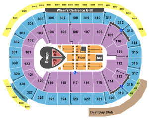 (Sat, May 12) PINK TICKETS (sec 305, ROW 6) 2 AISLE SEATS