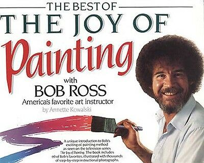 Bob Ross Book - Best of Joy of Painting - A