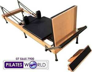 THE BEST NEW 2015  FOLDAWAY PILATES REFORMER IN AUSTRALIA Ascot Vale Moonee Valley Preview