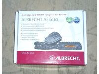 ALBRECHT AE-6110 MINI CB RADIO WITH A BIG PUNCH