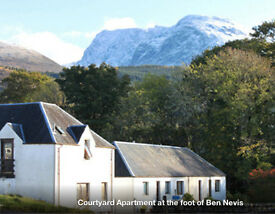 Torlundy Courtyard, Fort William: Spacious 2 bedroom apartment 3 miles from town.