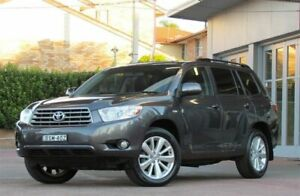 2010 Toyota Kluger GSU40R Altitude (FWD) 7 Seat Graphite 5 Speed Automatic Wagon Belmore Canterbury Area Preview