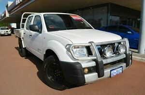 2012 Nissan Navara D40 S7 MY12 RX White 6 Speed Manual Cab Chassis Gosnells Gosnells Area Preview