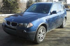 2006 BMW X3 SUV, Crossover