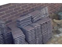 New Redlands roof tiles unused old stock