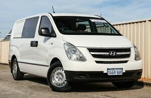 2012 Hyundai iLOAD TQ2-V MY13 Crew Cab White 5 Speed Automatic Van Wangara Wanneroo Area Preview