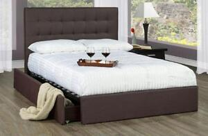Storage Bed frame & Serta Queen Mattress Combo – 50% OFF Retail!  Now offering a special combo package!